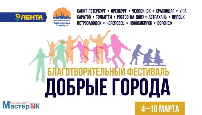 Итоги фестиваля «Добрые города»