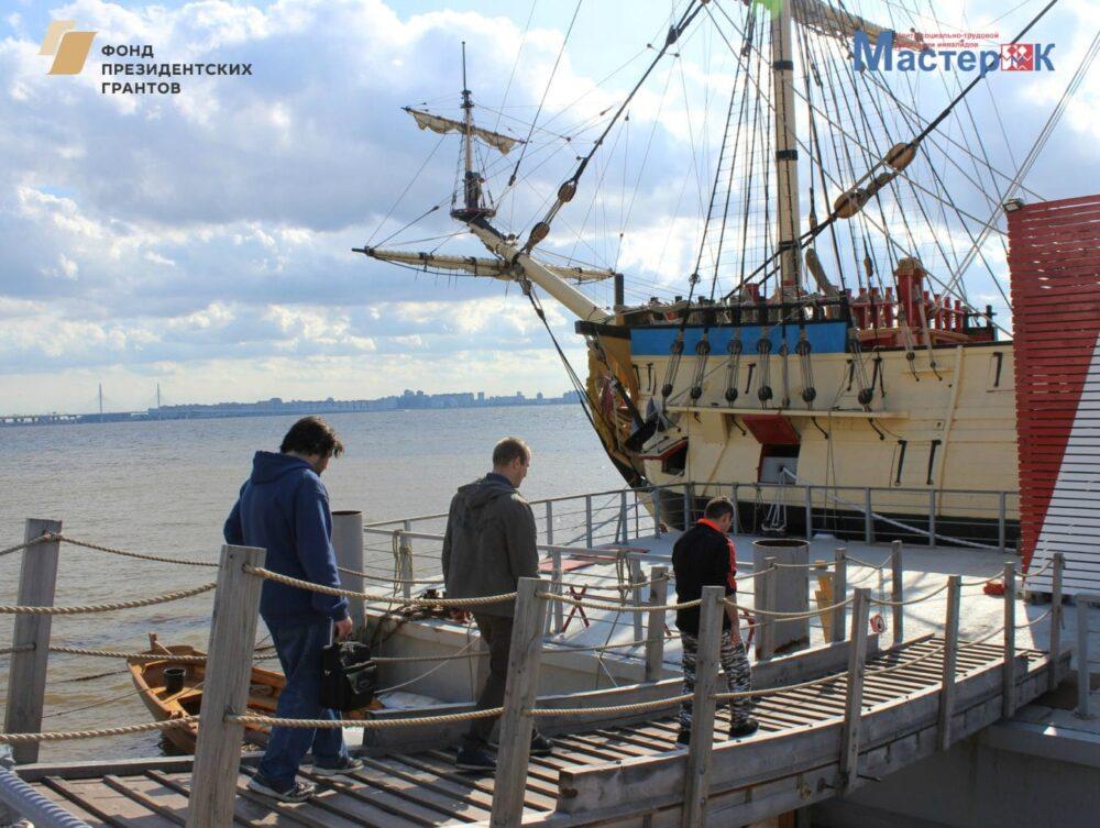 Производственная экскурсия на Верфь исторического судостроения «Полтава»