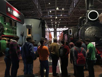 Увлекательное и познавательное путешествие в Гатчину и «Музей железных дорог России»